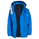 Trespass Prime II 3 in 1 Jacket Electric Blue