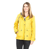 Trespass Seawater Waterproof Jacket Gold with Model