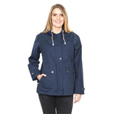 Trespass Seawater Waterproof Jacket Navy with Model