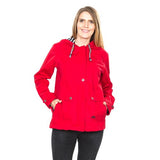 Trespass Seawater Waterproof Jacket Red with Model