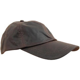 Wax Cotton Baseball Caps Brown