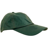 Wax Cotton Baseball Caps Olive