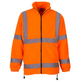 Yoko Hi Vis Fleece Jacket Orange