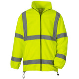 Yoko Hi Vis Fleece Jacket Yellow