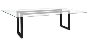 "Napoli Dining Table  86x40"" - 8 seat"
