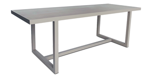 "Lazio Dining Table 87x32"" - 8 seat"