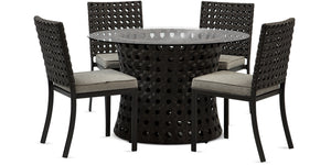 "Roma Dining Table 57"" - 6 seat"