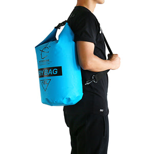 15L Professional Waterproof Dry Storage Bag with Adjustable Straps - Outdoor Livings