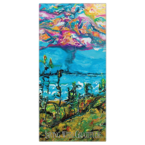 "Yoga Towel - ""Day on the Dunes"""