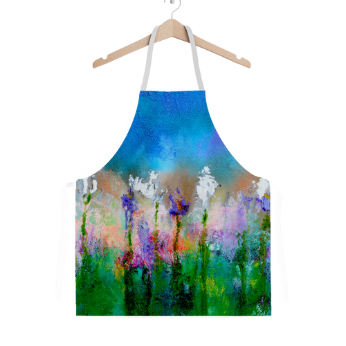 SOMETHING ABOUT SPRING Classic Sublimation Adult Apron