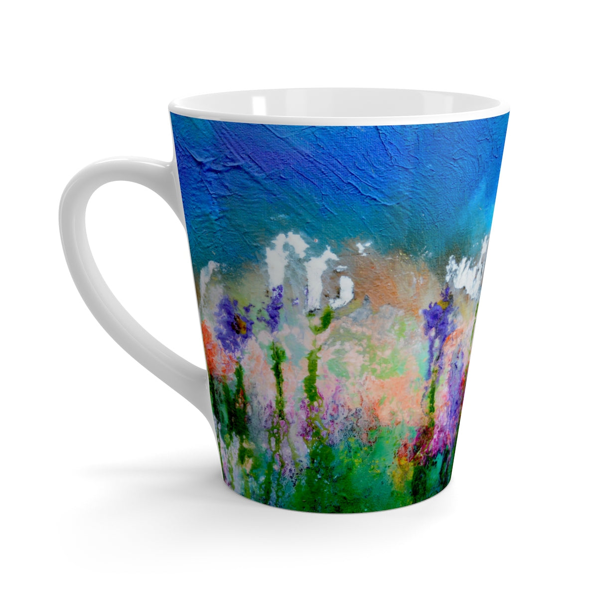 Latte Mug - 'Something About Spring'