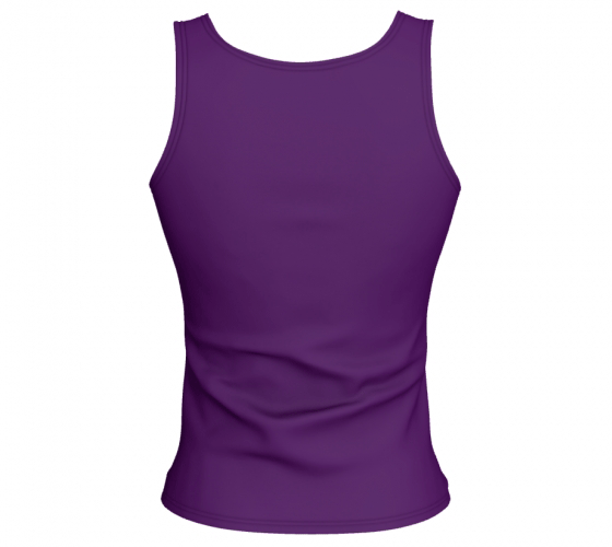 "Fitted Tank Top - ""Bliss-Full 2"" Regular"
