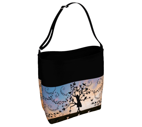 "Day Tote - ""From the Dream Maker"""