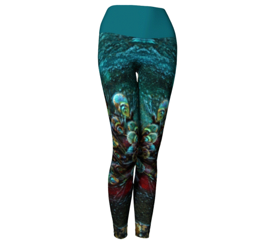 "Yoga Leggings - ""By the River"""