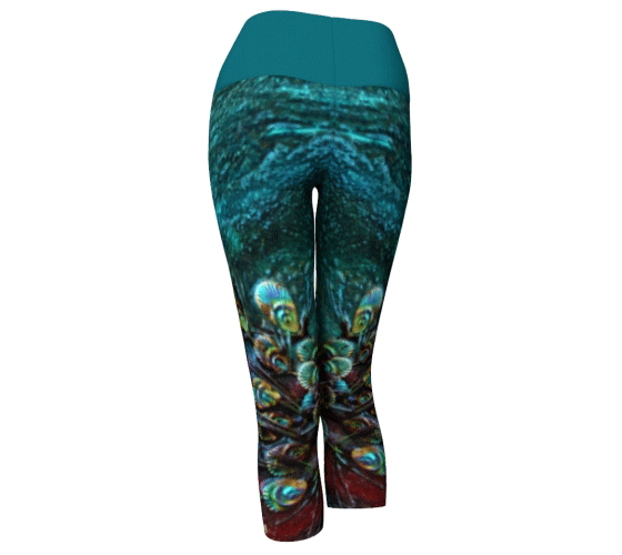 "Yoga Capris - ""By the River"""