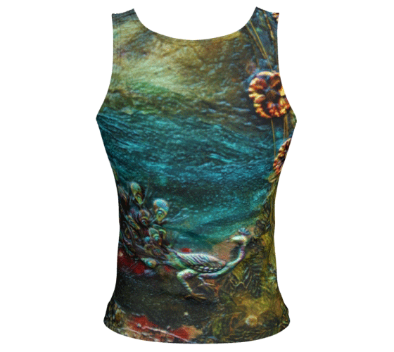 "Fitted Tank Top - ""By the River"" Regular"