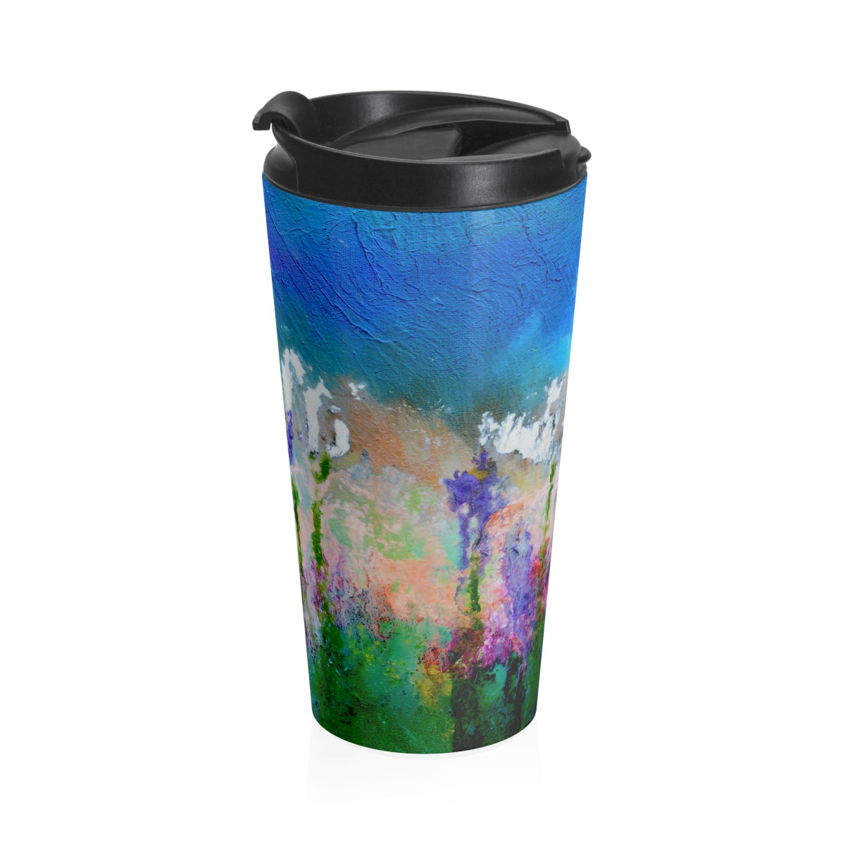 Stainless Steel Travel Mug - 'Something About Spring'