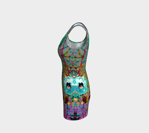 Bodycon Dress - 'Ceaseless Longing'