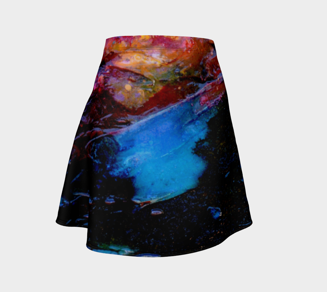 Flare Skirt - 'Good Night Columbia'