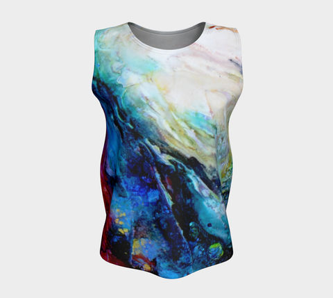 Fitted Tank Top Regular - 'Ceaseless Longing'