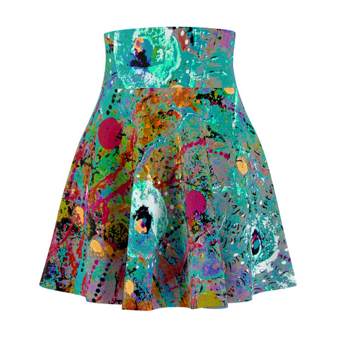 Flare Skirt - 'Give it to the Clouds Two'