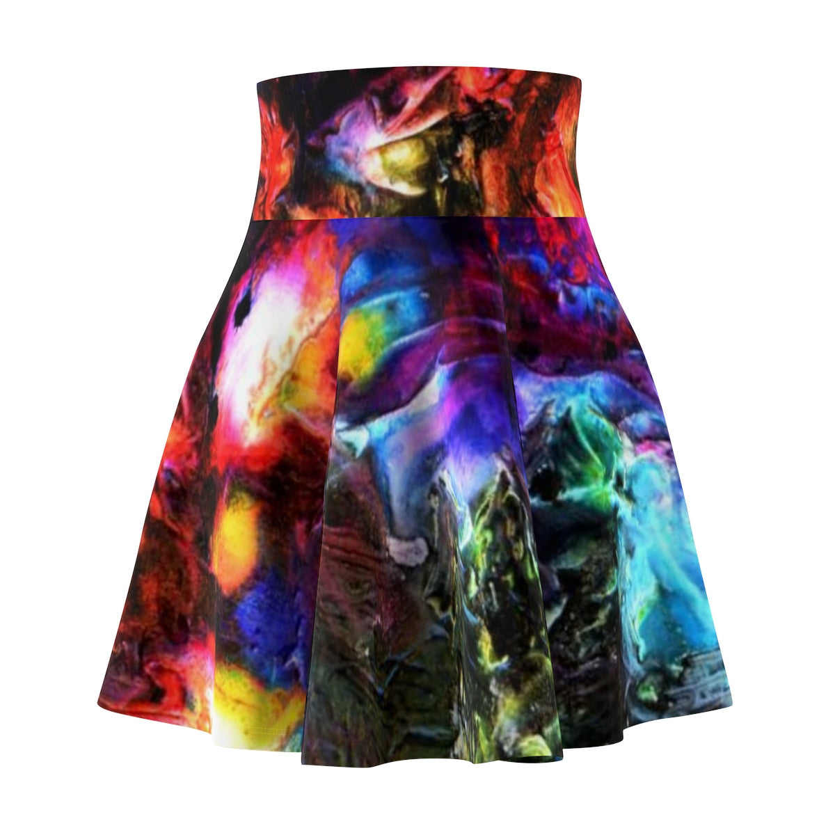 Women's Skater Skirt - 'One Night at the Pond'
