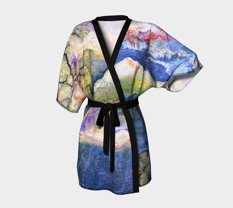 Draped Kimono - 'Good Night Columbia'