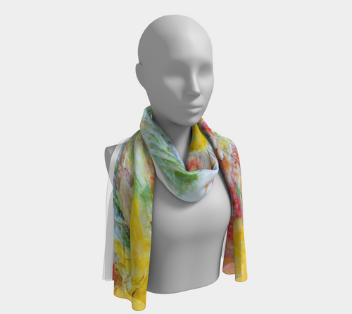 Scarf - 'Tomatillo Time'