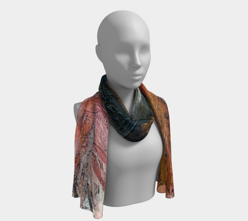 Scarf - 'Double Happiness'