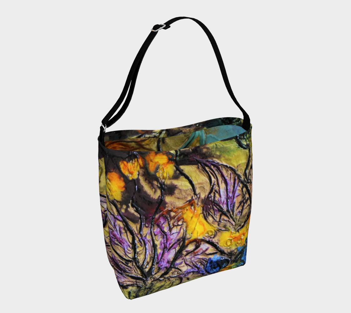 Day Tote - 'Garden View' - Two