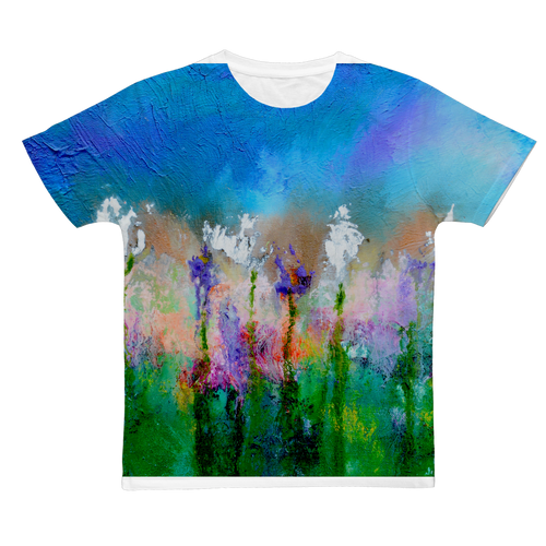 SOMETHING ABOUT SPRING Classic Sublimation Adult T-Shirt