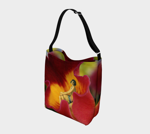 Day Tote - 'Flower Girl'