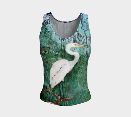 Fitted Tank Top Regular - 'The Wait'