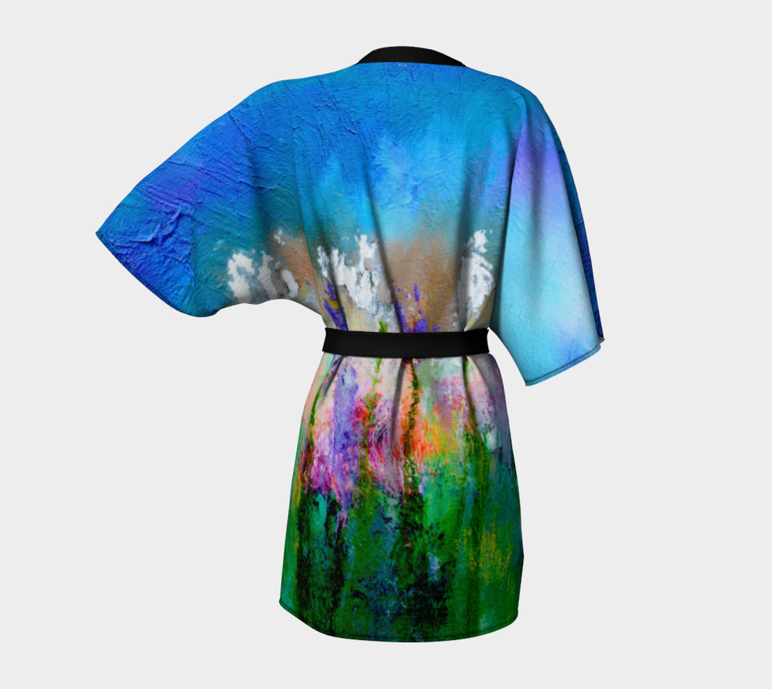 Kimono Robe - 'Something About Spring'