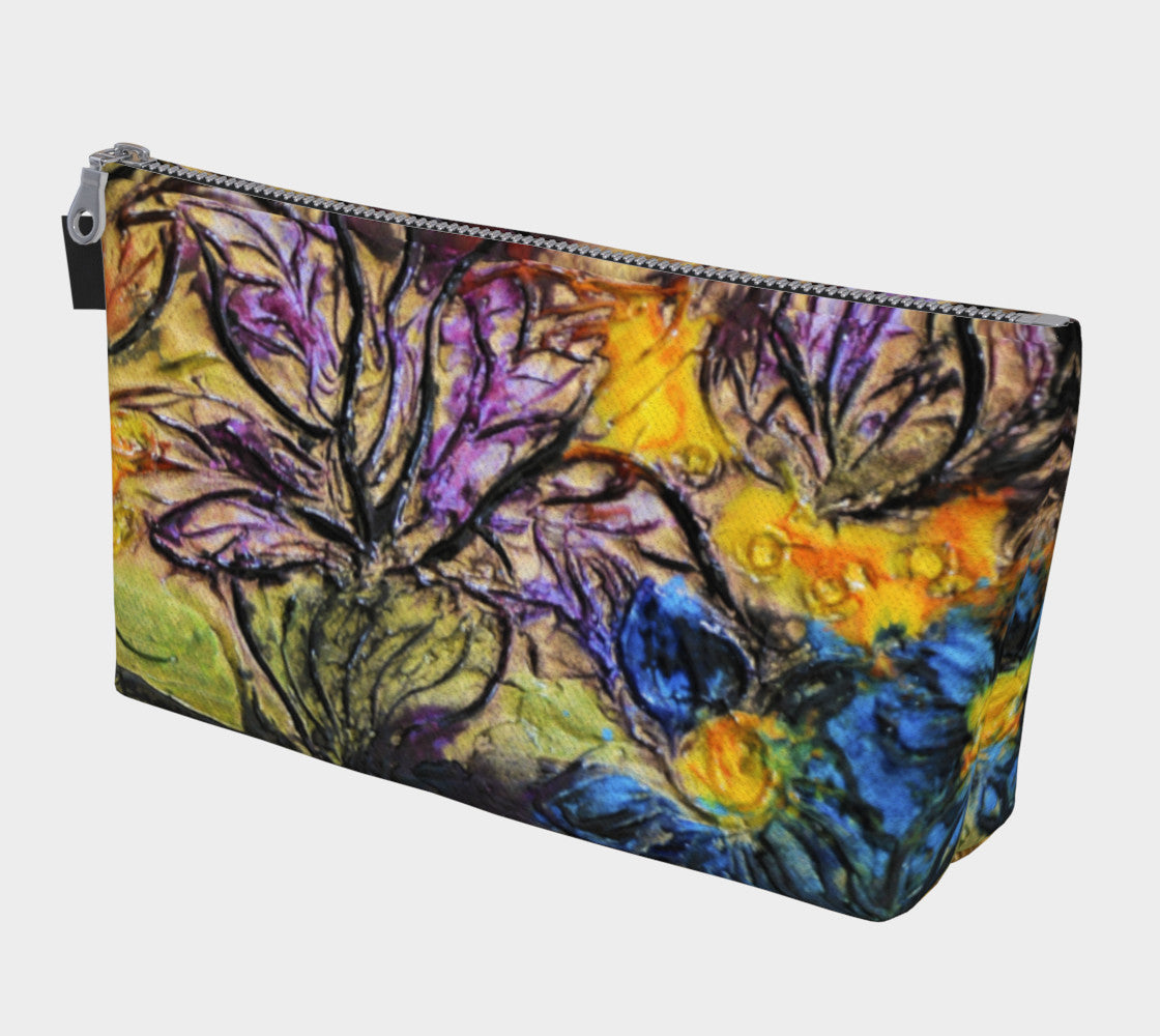 Makeup Bag - 'Garden View'