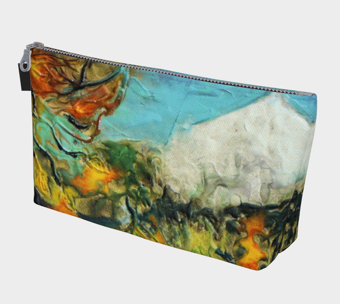 Makeup Bag - 'Mountain View'