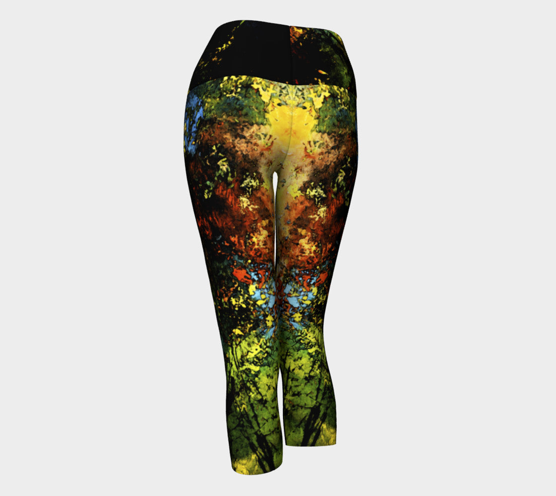 Yoga Capris - 'When I'm in Love with it All!'