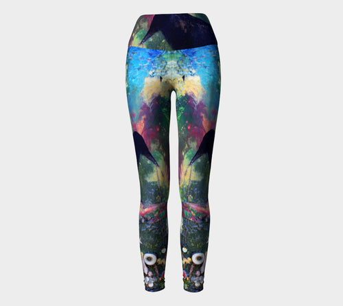Yoga Leggings - 'Knowing the Value of the Broken and the Lost'