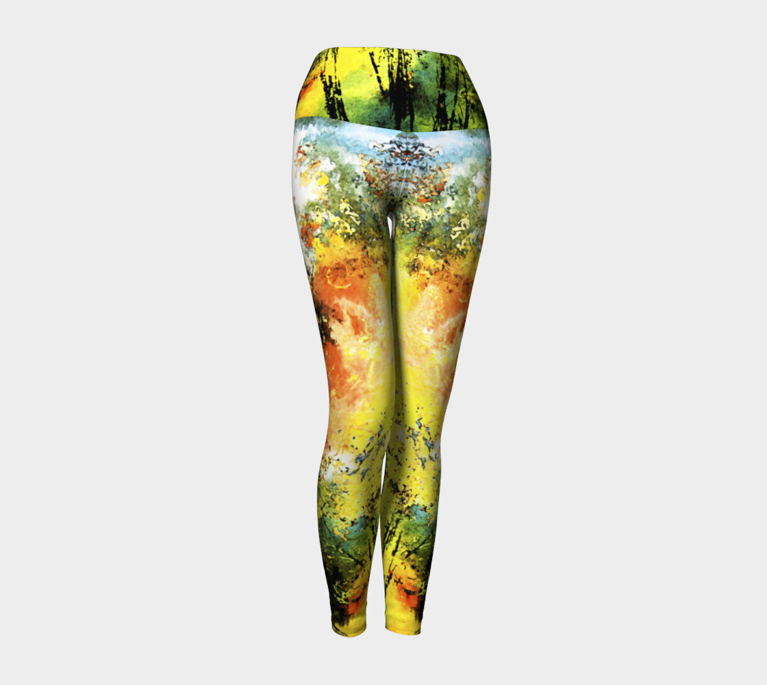Yoga Leggings - 'When I'm in Love with it All!'