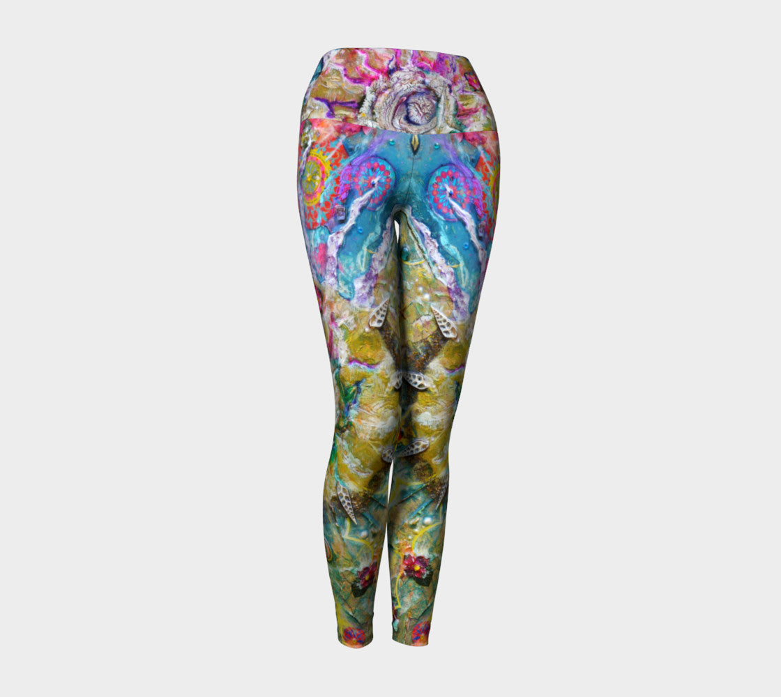 Yoga Leggings - 'Personal Big Bang'