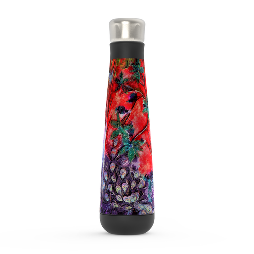 "Water Bottle - ""Bliss-Full"" Red/Purple"