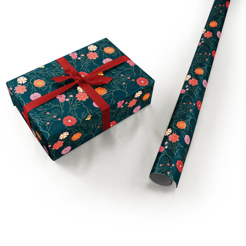 "Wrapping Paper - Ana Sanfelippo Roll (2 sheets) - 27"" x 39"" (Black)"