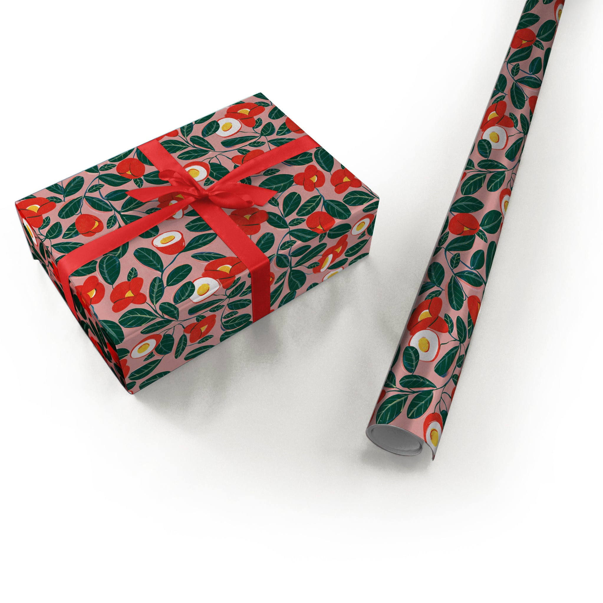 "Wrapping Paper - Ana Sanfelippo Roll (2 sheets) - 27"" x 39"" (Pink)"