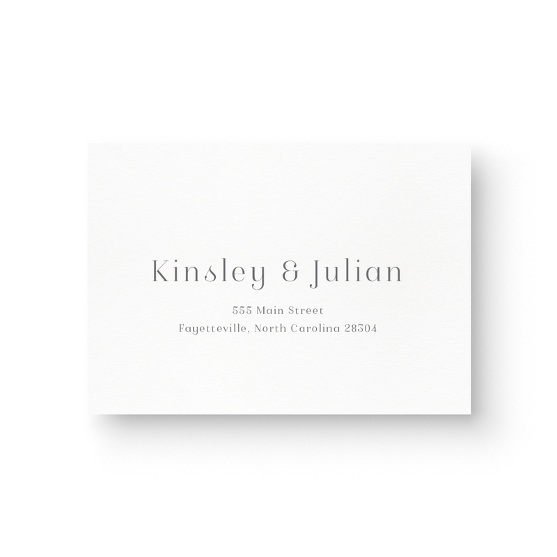 Kinsley Response Card