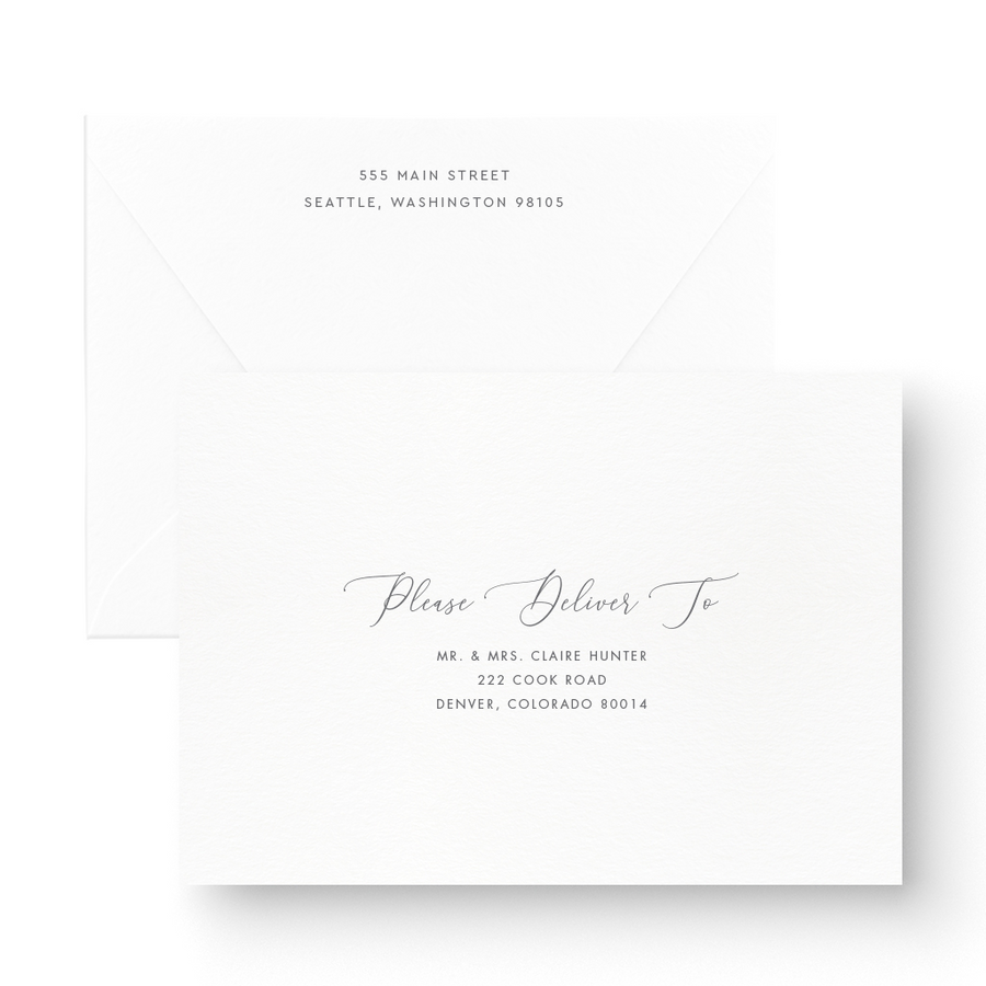 Victoria Foil Wedding Invitation