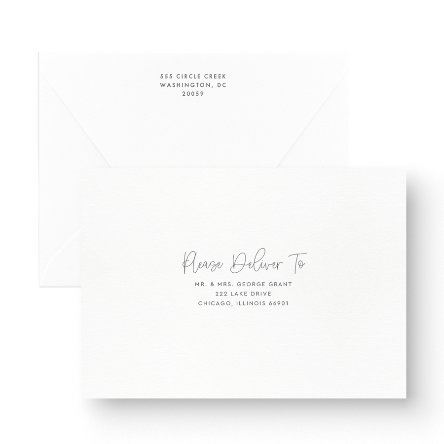 Skyler Wedding Invitation