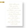 Claire Foil Wedding Invitation