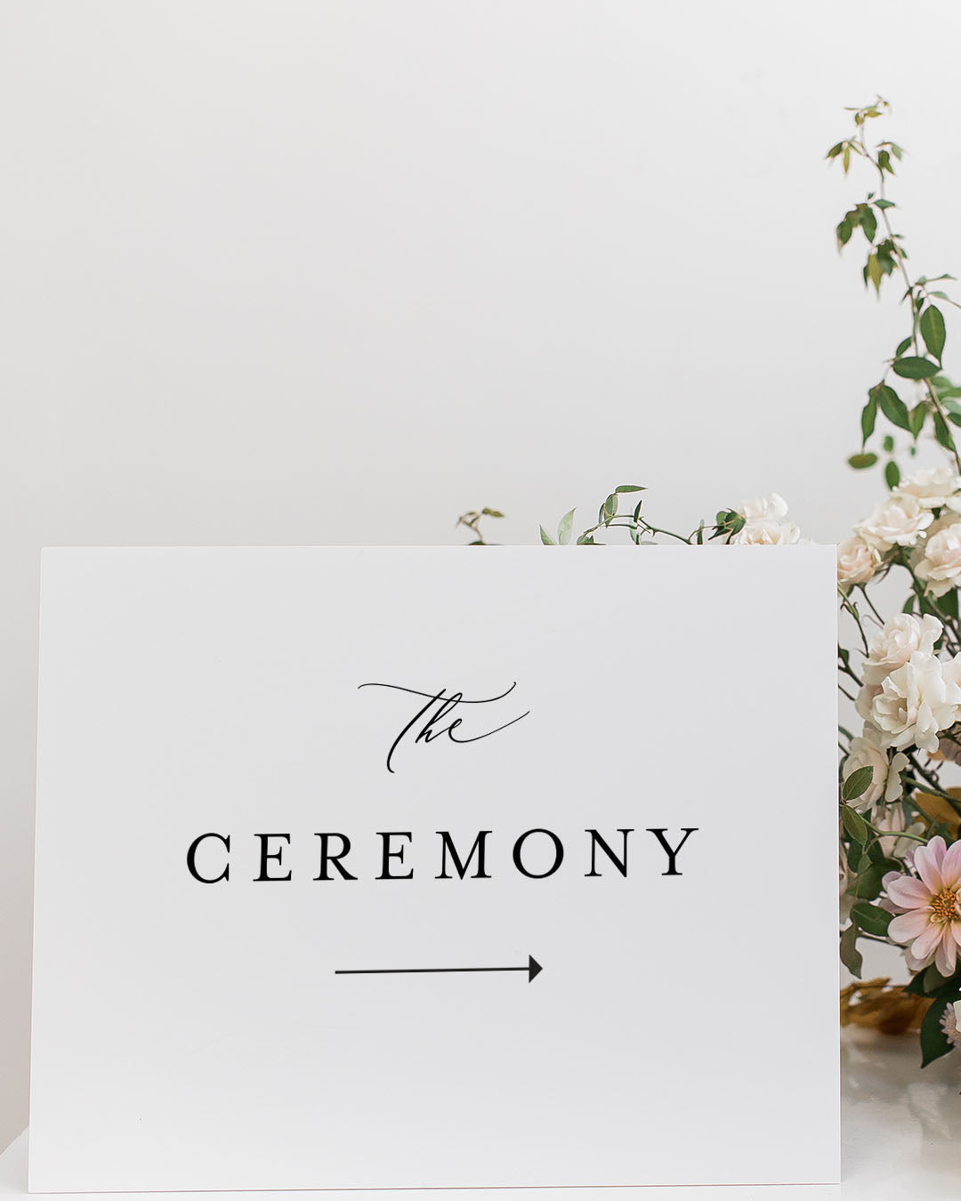 Wedding Direction Signs | The Bailey