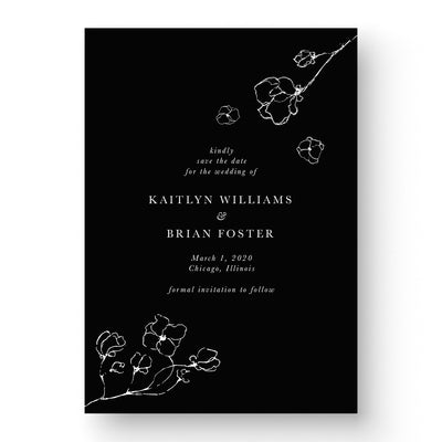 Kaitlyn White Ink Save The Date