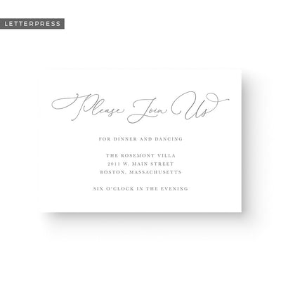 Madelyn Letterpress Details Card